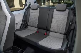 Volkswagen up!, rear seats