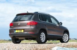 Volkswagen Tiguan, rear