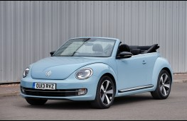 Volkswagen Beetle Cabriolet, profile