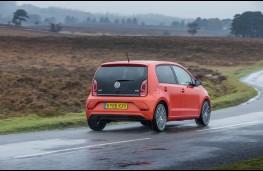 Volkswagen up!, rear