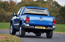 Volkswagen Amarok, rear