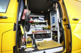 The AA, Volkswagen Transporter, equipment