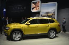 Volkswagen Atlas, 2016, Los Angeles auto show