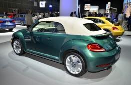 Volkswagen Beetle Cabriolet, 2016, Los Angeles auto show
