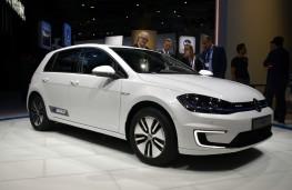Volkswagen e-Golf, 2016, Los Angeles auto show