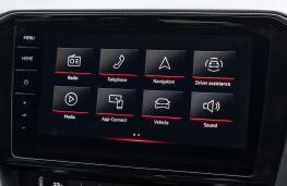 Volkswagen MIB3 infotainment system, 2020, display