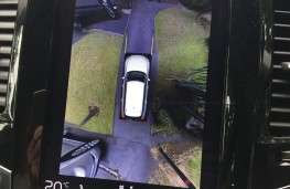 Volvo XC90 T6 2015, 360 degree camera display