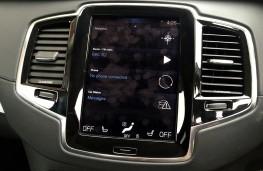 Volvo XC90 T6 2015, display screen