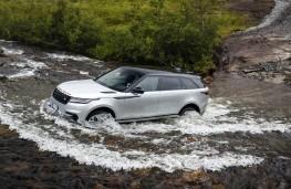 Range Rover Velar, 2017, wading