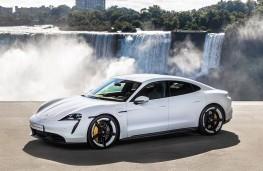 Porsche Taycan, 2020, front