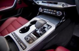 Kia Stinger GT S, 2017, gear lever