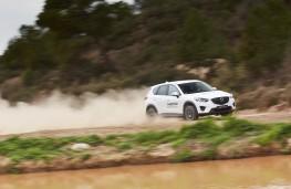 Mazda CX-5, Guy Wilks drive at Les Comes 6
