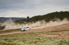 Mazda CX-5, Guy Wilks drive at Les Comes 5