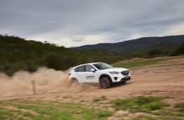 Mazda CX-5, Guy Wilks drive at Les Comes 3