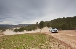 Mazda CX-5, Guy Wilks drive at Les Comes 2