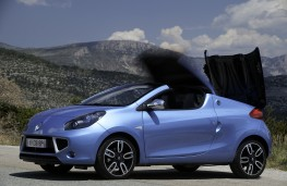 Renault Wind, folding roof