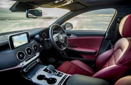 Kia Stinger GT S, 2017, interior