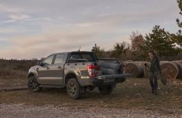 Ford Ranger Wolftrak, 2021, rear