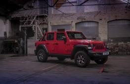 Jeep Wrangler, front