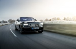 Rolls-Royce Wraith, front, action