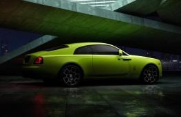 Rolls-Royce Wraith, 2020, Lime Rock Green