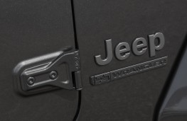 Jeep Wrangler 80th Anniversary Special Edition, badge