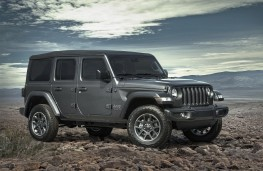 Jeep Wrangler 80th Anniversary Special Edition, front