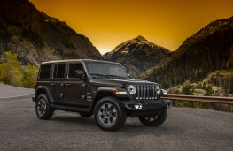 Jeep Wrangler Sahara, 2018, front