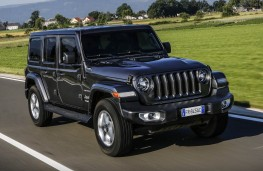 Jeep Wrangler, 2018, front