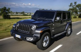 Jeep Wrangler, 2018, front, action