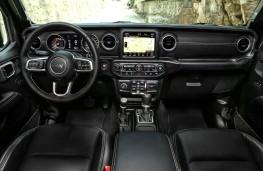 Jeep Wrangler, 2018, interior