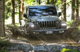 Jeep Wrangler, 2018, off road