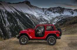 Jeep Wrangler Rubicon, 2018, side