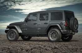 Jeep Wrangler 80th Anniversary Special Edition, side