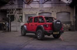 Jeep Wrangler, rear