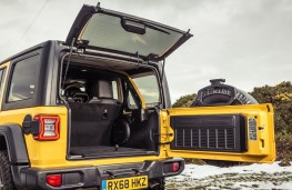 Jeep Wrangler Rubicon, 2019, tailgate