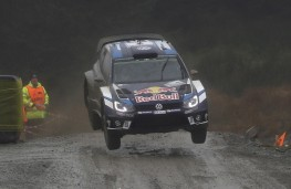 Volkswagen Polo R WRC, Rally Great Britain, 2016, jump