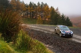 Volkswagen Polo R WRC, Rally Great Britain, 2016, action, side