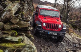 Jeep Wrangler, 2019, front, off road