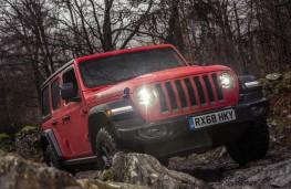 Jeep Wrangler, 2019, front, rocks