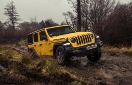 Jeep Wrangler Rubicon, 2019, front, off road