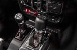 Jeep Wrangler Rubicon, 2019, gear levers