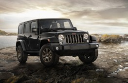 Jeep Wrangler, 75th anniversary limited edition