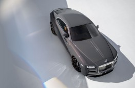 Rolls-Royce Wraith Luminary Collection, 2018, overhead