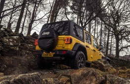 Jeep Wrangler Rubicon, 2019, rear, off road