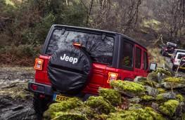 Jeep Wrangler, 2019, rear