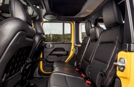Jeep Wrangler Rubicon, 2019, rear seats