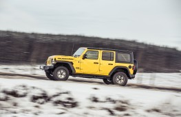 Jeep Wrangler Rubicon, 2019, side