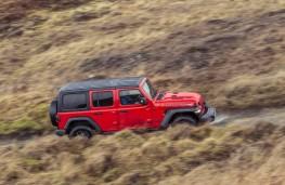 Jeep Wrangler, 2019, side
