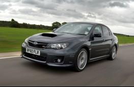 Subaru Impreza WRX action